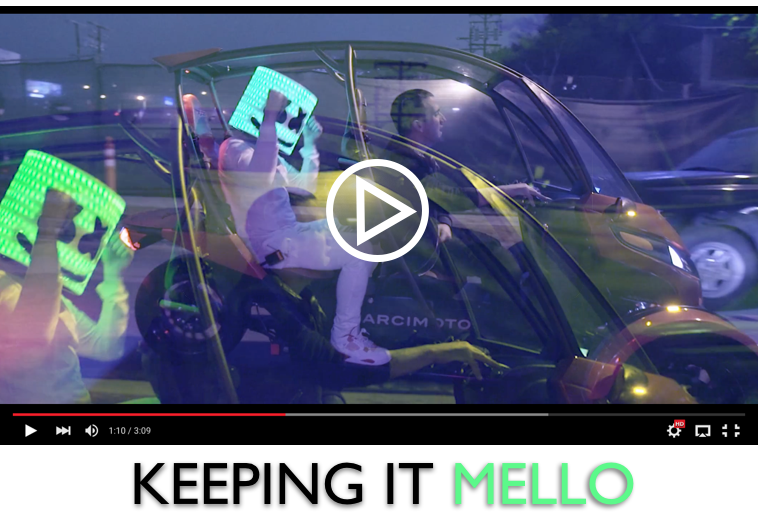"The SRK was in a music video titled ""Keep it Mellow"""